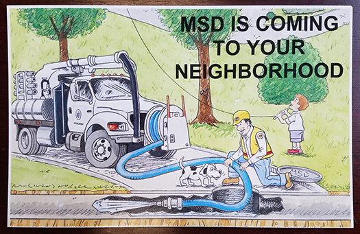 MSD Cleaning